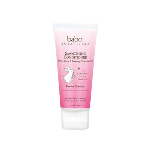 Babo Botanicals Detangling Conditioner Instantly Smooth Berry Primrose 6 Oz