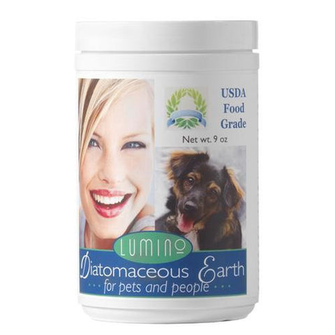 Lumino Home Diatomaceous Earth Food Grade Pets And People 9 Oz