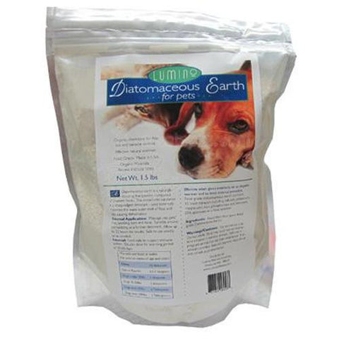 Lumino Home Diatomaceous Earth Food Grade Pets And People (1x1.5 Lb)