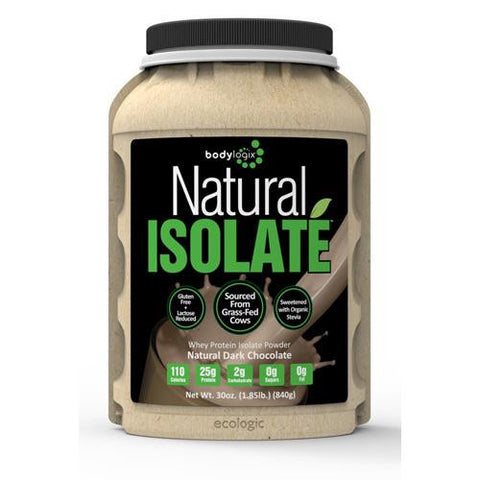 Bodylogix Isolate Powder Natural Whey Dark Chocolate (1x1.85lb)