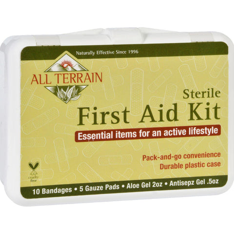 All Terrain First Aid Kit  17 Pieces