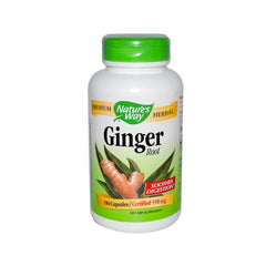 Nature's Way Ginger Root (180 Capsules) - Rhea Manor Natural Market