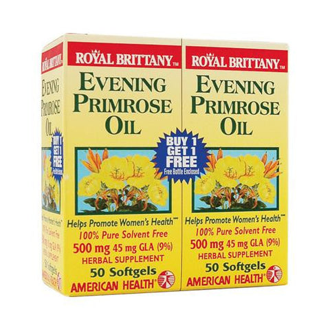 American Health Royal Brittany Evening Primrose Oil Twin Pack 500 Mg (2x50 Softgels)