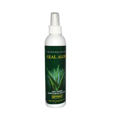 Real Aloe Inc. Aloe Vera Spray 8 Oz - Rhea Manor Natural Market