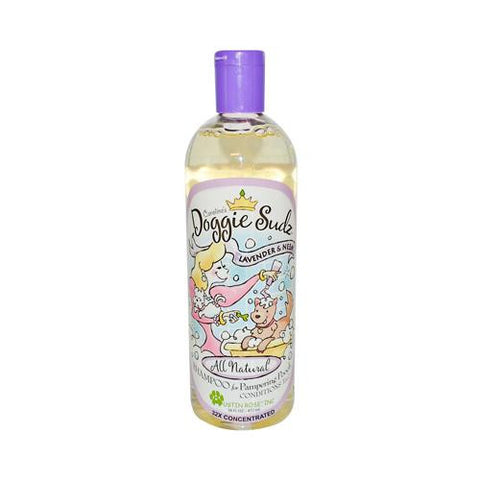 Austin Rose Caroline's Doggie Sudz Shampoo For Pampering Pooch Lavender And Neem 16 Oz