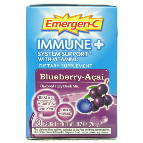Alacer Blueberry-acai Immune+ Emergen-c (1x30 Ct)