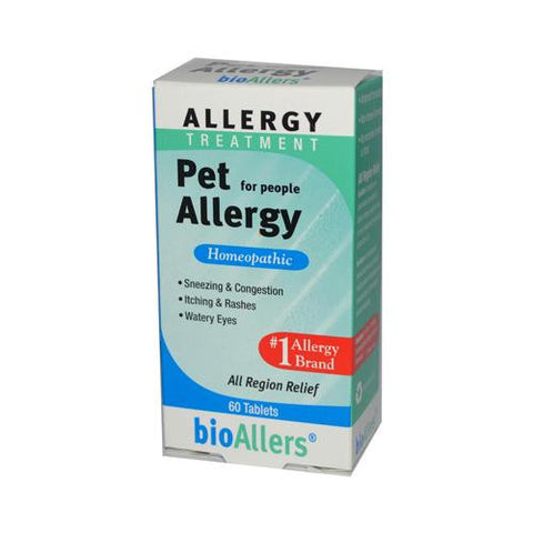 Bio-allers Pet Allergy Treatment For People (1x60 Tablets)