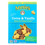 Annie's Homegrown Gluten Free Cocoa And Vanilla Bunny Cookies - Case Of 12 - 6.75 Oz.
