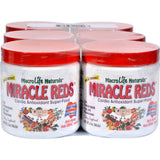 Macrolife Naturals Miracle Reds Antioxidant Super Food 6 Servings - Case Of 6 - 2 Oz