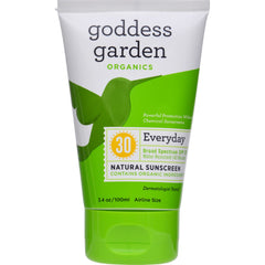 Goddess Garden Organic Sunscreen - Natural Spf 30 Lotion - 3.4 Oz - Rhea Manor Natural Market