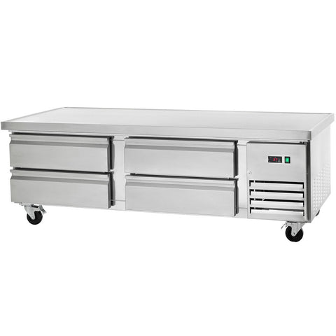 "Arctic Air 74"" Refrigerated Chef Base/ Equipment Stand - Food Service Supply"