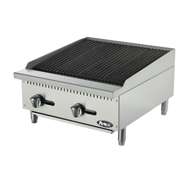 "Atosa ATRC-24 24"" Charbroiler - Food Service Supply"