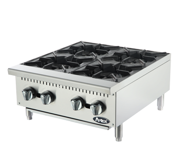 "Atosa ATHP-24-4 24"" Hot Plate 4 Burners - Food Service Supply"