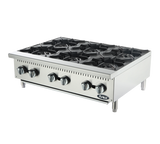 "Atosa ATHP-36-6, 6 Burner Hot Plate 36"" - Food Service Supply"