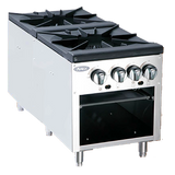 Atosa Double Burner Stock Pot Range ASP-18-2 - Food Service Supply