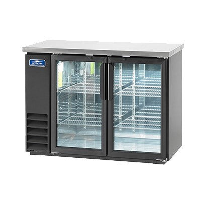 Arctic Air Back Bar Glass Door Refrigerator ABB48G - Food Service Supply