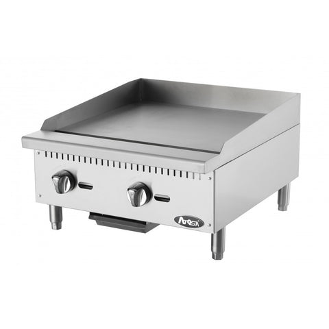 "Atosa ATMG-24, 24"" Griddle Gas Countertop - Food Service Supply"