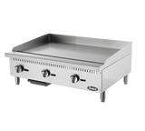 "Atosa ATMG-36 36"" Manual Griddle - Food Service Supply"