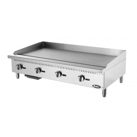 "Atosa ATMG48 48"" Manual Griddle - Food Service Supply"