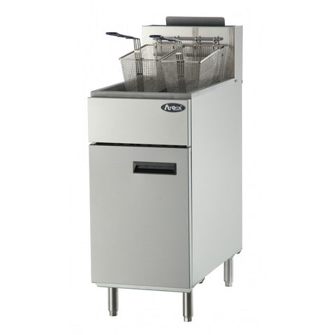 Atosa ATFS-50, 50 LB  Fryer Natural Gas or Liquid Propane - Food Service Supply