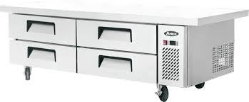 "Atosa 76"" Refrigerated Chef Base/ Equipment Stand - Food Service Supply"