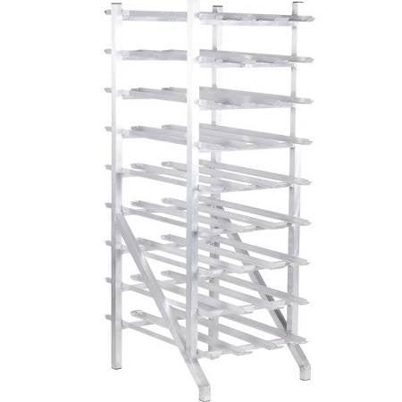 Win-Holt Stationary Aluminum #10 Can Rack - Food Service Supply