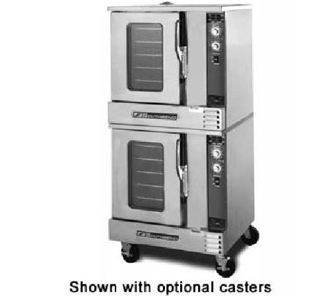 Southbend Double Stack Gas or Electric 1/2 Size Convection Oven GH20SC - Food Service Supply