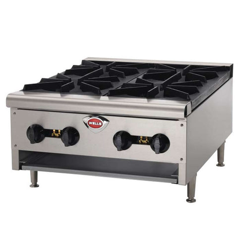 Wells 4 Burner Hot Plate HDHP2430G - Food Service Supply