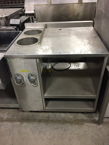 Wells Custom Soup Warmer Counter - Food Service Supply
