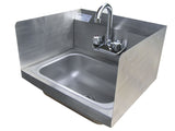 KTI SPHS1000 Hand Sink with Splash Guards Economy - Food Service Supply
