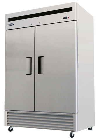 Atosa MBF8507GR Double Door Refrigerator - Food Service Supply