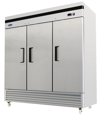 Atosa MBF8508 Three Door Refrigerator - Food Service Supply