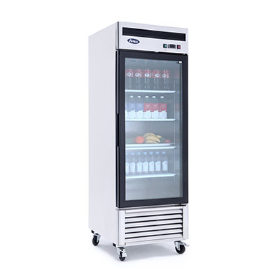 Atosa, 1 Door Refrigerator Merchandiser S/S - Food Service Supply
