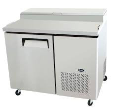 "New Atosa 44"" Pizza Prep Refrigerated Make Table MPF8201 - Food Service Supply"