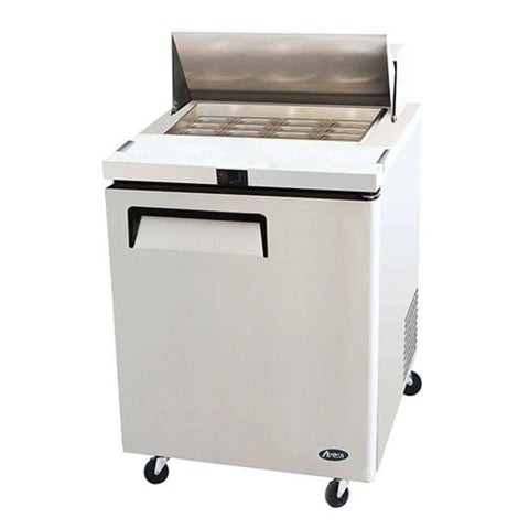 "Atosa MSF8305GR, 27"" Mega Top Prep Table - Food Service Supply"