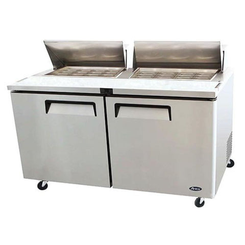 "Atosa MSF8307GR, 60"" Mega Top Refrigerated Prep Table - Food Service Supply"