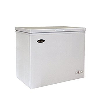 Atosa Chest Freezer 7 Cubic Foot Capacity Solid Lid - Food Service Supply