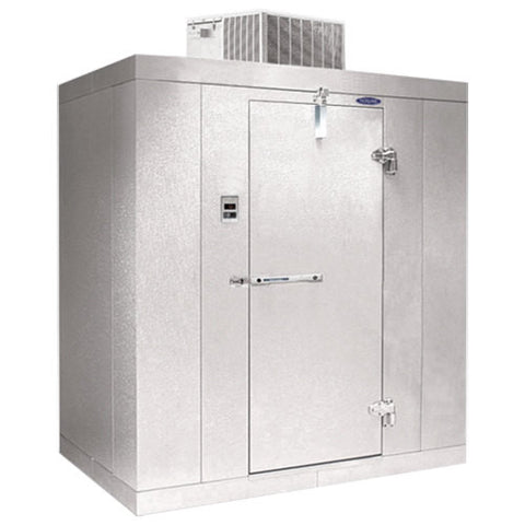 NORLAKE 8X8X7' HIGH WALK IN COOLER SELF CONTAINED KLB7488-C - Food Service Supply