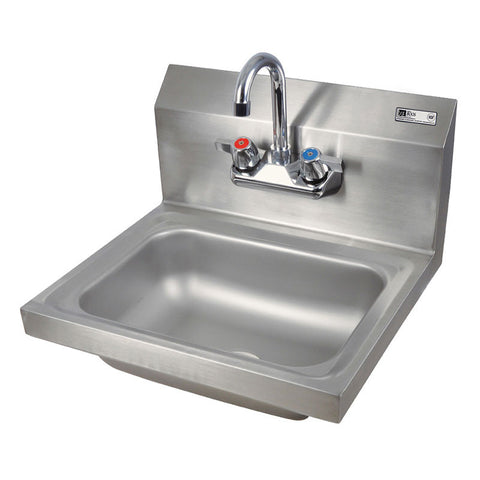 John Boos Hand Sink With Faucet PBHS-W-1410-P - Food Service Supply