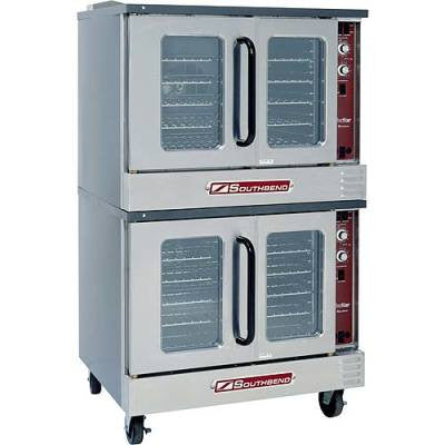 Southbend SLGS/22SC Double Stack Standard Depth Convection Oven Gas or Electric - Food Service Supply