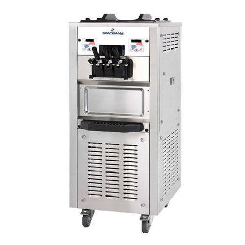 Spaceman 6250H Floor Model Soft Serve Ice Cream Machine - Food Service Supply