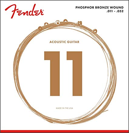 11-52 Phos Bronze Acoustic Guitar Strings