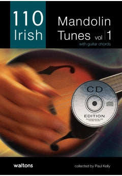110 Mandolin Tunes Vol.1 Bk/Cd