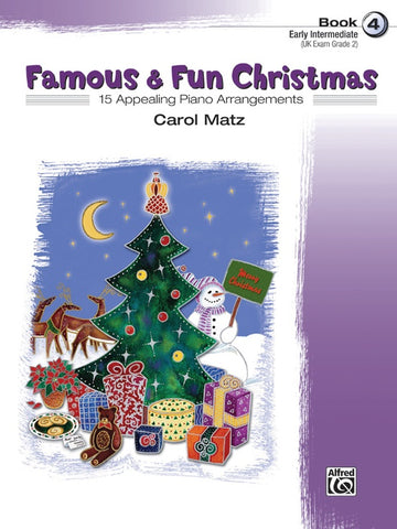 Famous And Fun Christmas Bk 4 Pno