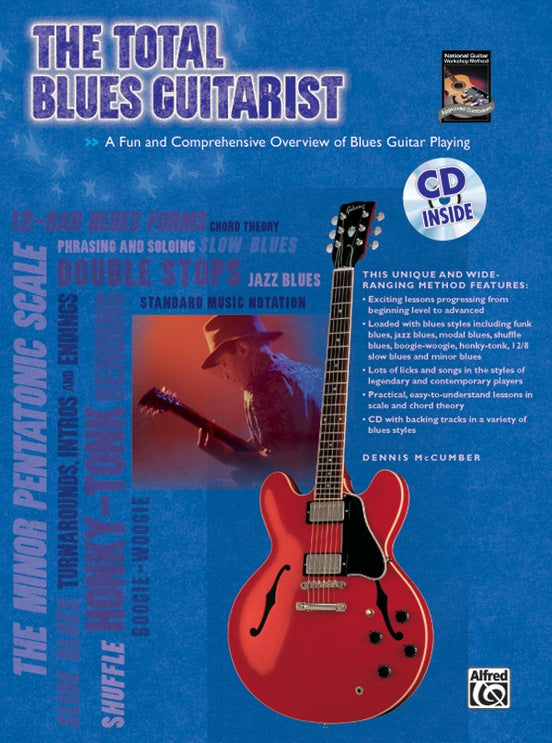 Total Blues Guitarist Bk/Cd