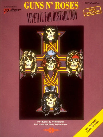 Appetite for Destruction Guitar Tab