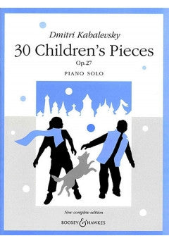 Childrens Pieces 30 For Piano