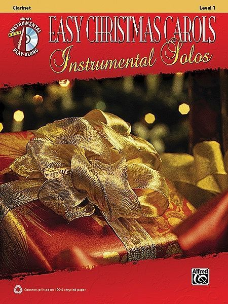 Easy Christmas Carols Inst Solos Clarinet