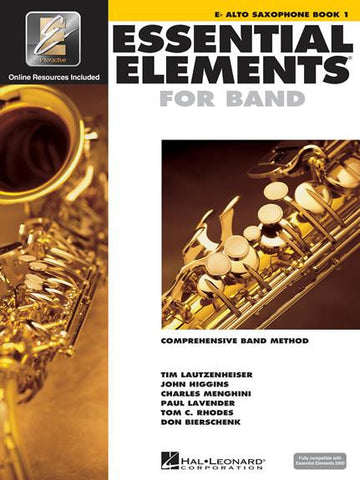 Essential Elements For Band Bk 1 Alto Sax Eei