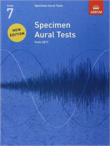 A B Aural Tests Gr 7 Bk/Cd 2011